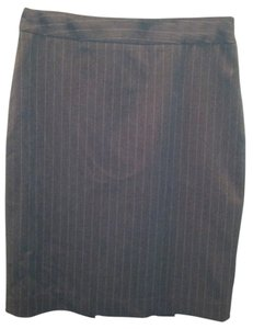 Apt. 9 Pencil Pinstripe Skirt Gray