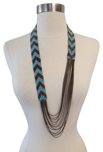 Varga Bead And Chain Necklace