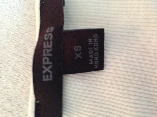 Express Sequin Top White