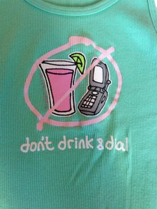 Be as you are Drunk Dial Top Green