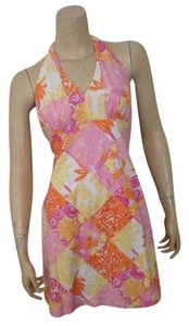 Lilly Pulitzer short dress Pink and Orange on Tradesy