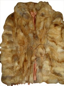 Other Patchwork 70s Fur Boho Jacket Fur Coat