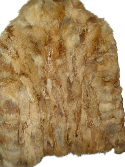 Other Patchwork 70s Boho Jacket Fur Coat