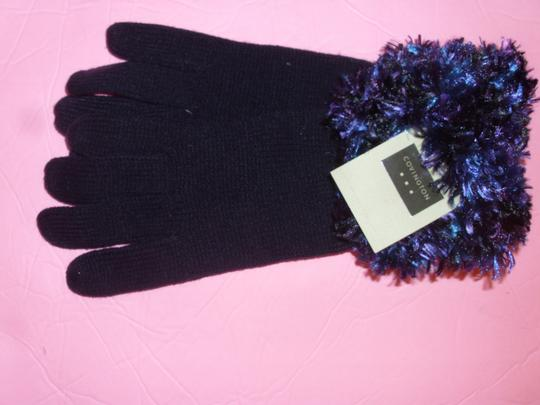 Covington 3 pc Covington gloves, hat & scarf boucle knit winter set