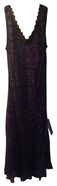 Purple/black Maxi Dress by Other