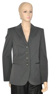 Giorgio Armani Wool Suit Blazer Gray Jacket