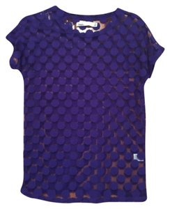 Hi-Line T Shirt Purple