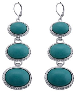 Unknown Turquoise Lever Back Earrings