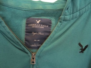 American Eagle Outfitters Zip Medium Large Sweatshirt