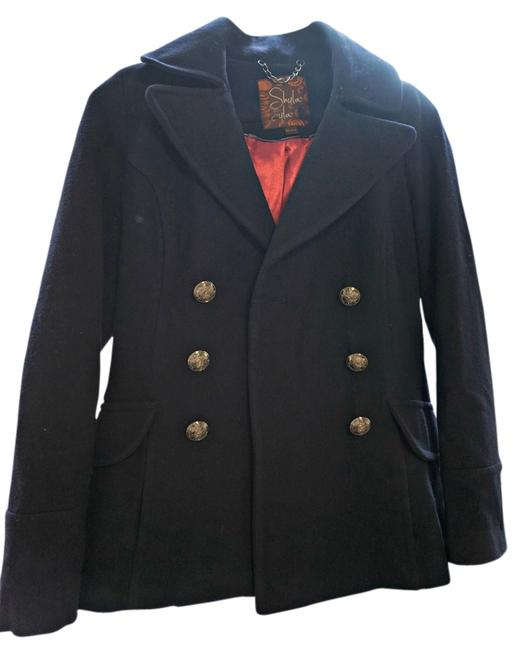 South Moon Under Wool Double-breasted Coat