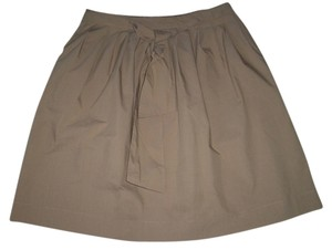 Charter Club Pull-on Style Elastic Back Skirt Beige