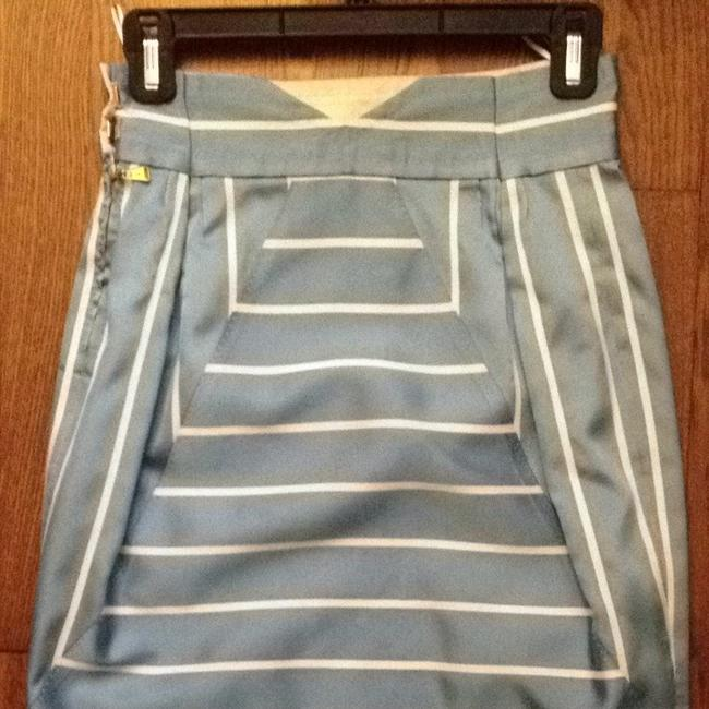 Louis Vuitton Spring Classic Exclusive Rare Skirt Blue & White