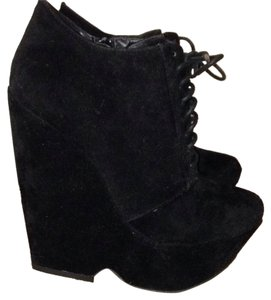 Bonnibel Suede Bootie Sexy Party black Boots