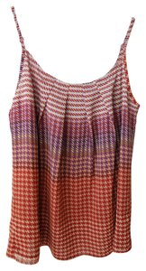 CAbi Houndstooth Camisole Top Multi