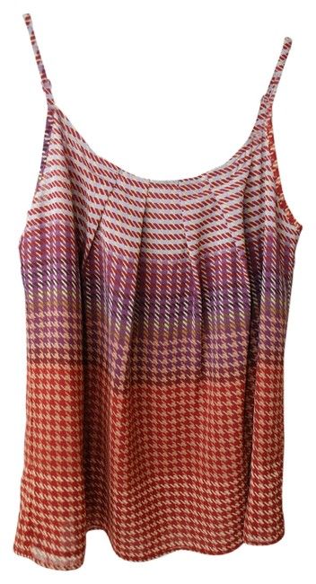 CAbi Houndstooth Sole Top Multi