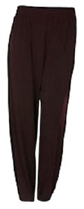Susan Graver Relaxed Pants Brown
