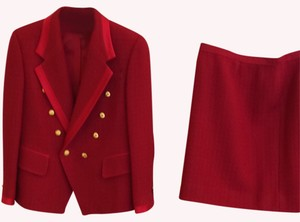 Custom skirt suit Flash Sale- Red Skirt Suit