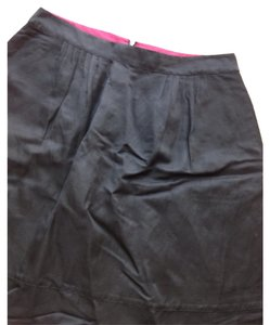 Banana Republic Skirt Black with fuschia waist lining