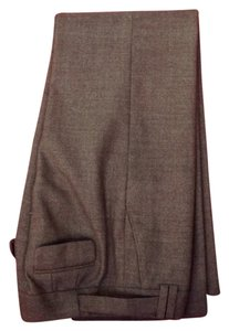 Ann Taylor Straight Pants Dark brown