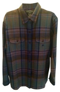 Ralph Lauren Button Down Shirt Plaid