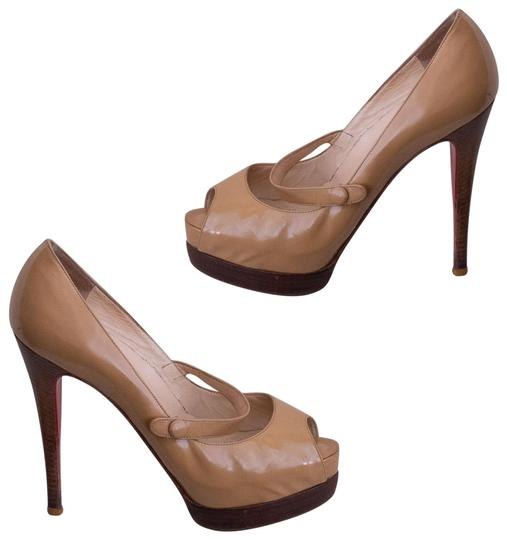 Preload https://img-static.tradesy.com/item/697162/christian-louboutin-brown-no-barre-platform-pumps-size-eu-38-approx-us-8-regular-m-b-0-2-540-540.jpg