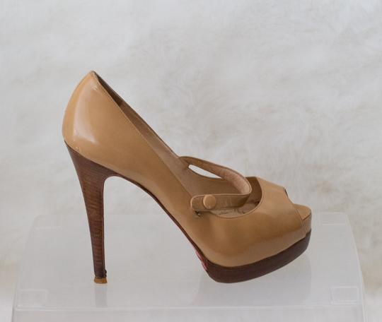 Christian Louboutin Brown Pumps