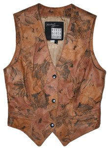 North Beach Leather Michael Hoban Suede Vintage Vest