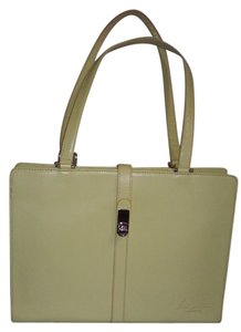 Other Italian Satchel in Light Green Leather