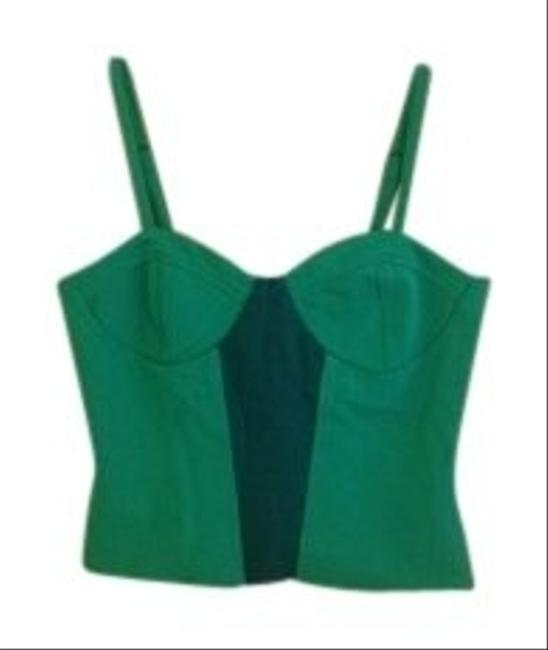 Lucca Couture Top Kelly Green/Emerald Green
