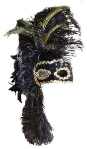 Masquerade Burlesque New Years Eve Mask
