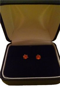 NEW! Pretty Orange Fall Stud Earrings FREE SHIPPING