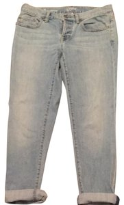 Ann Taylor LOFT Boyfriend Cut Jeans-Light Wash