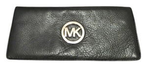 Michael Kors Wristlet Wallet BLACK Clutch