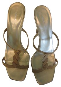 DKNY Strappy gold Sandals