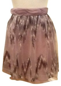 Antonio Melani Skirt Brown grey cream