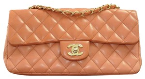 Chanel Medium Red Single Flap Shoulder Bag