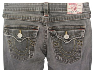 True Religion Straight Leg Jeans-Distressed