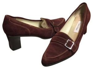 Calvin Klein Plum Wine Pumps