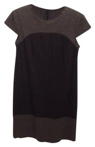 Vince short dress Charcoal grey on Tradesy