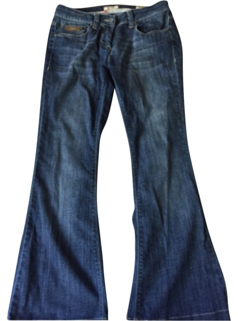 Item - Blue/Denim Relaxed Fit Classic Flare Leg Jeans Size 29 (6, M)