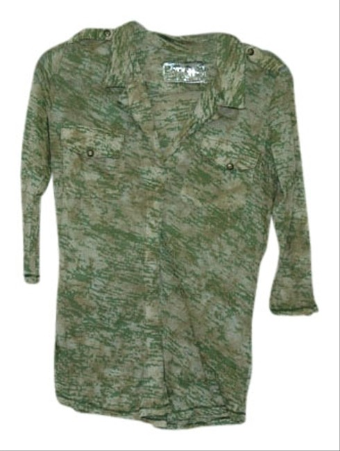 Erge Designs Top Army green