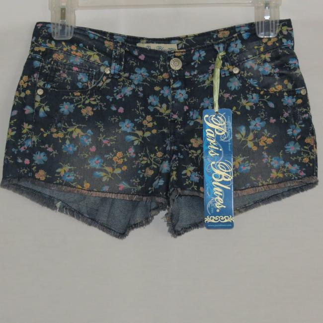 Paris Blues Denim Shorts-Distressed