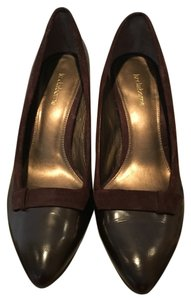 Liz Claiborne Leather Suede chocolate Pumps