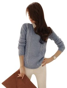 Korea Fashion Knit Cable Cardigan Shirt Cute Korean Sweater