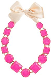 Kate Spade Iconic Classic KATE SPADE RARE CRYSTAL KALEIDOSCOPE PINK Statement NECKLACE