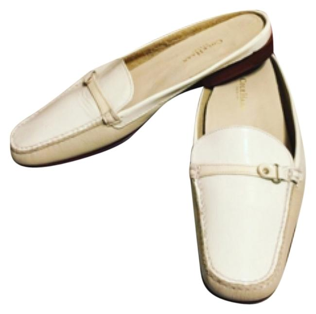Cole Haan White/Tan 7- Leather/White Patent Slip On Loafers Flats Size US 7 Regular (M, B) Cole Haan White/Tan 7- Leather/White Patent Slip On Loafers Flats Size US 7 Regular (M, B) Image 1
