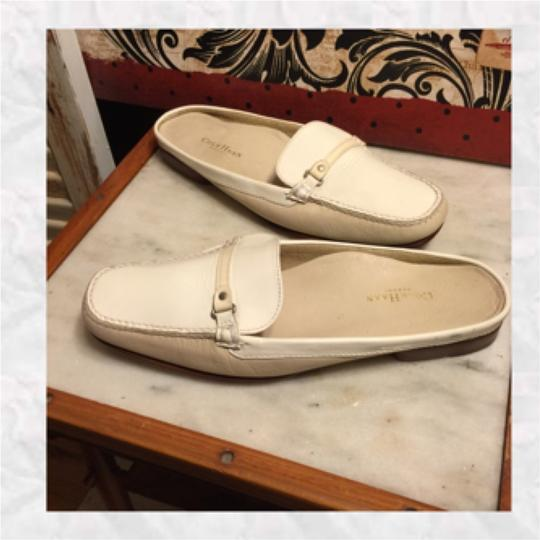 Cole Haan White/Tan Flats