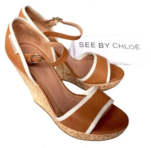 Chloé See By Chloe Tan, Brown Wedges