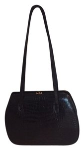 Judith Leiber Crocodile Alligator Shoulder Bag