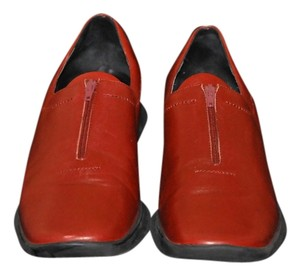 Sesto Meucci Loafers Color Zipper In The Front Soft Leather Uppers Impeccably Made Cordovan Flats